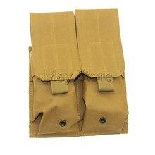 Étui à pistolet Double Molle, pochette pour chargeur, lampe de poche, couteau à outil, gaine, étui à cartouche, porte-ceinture