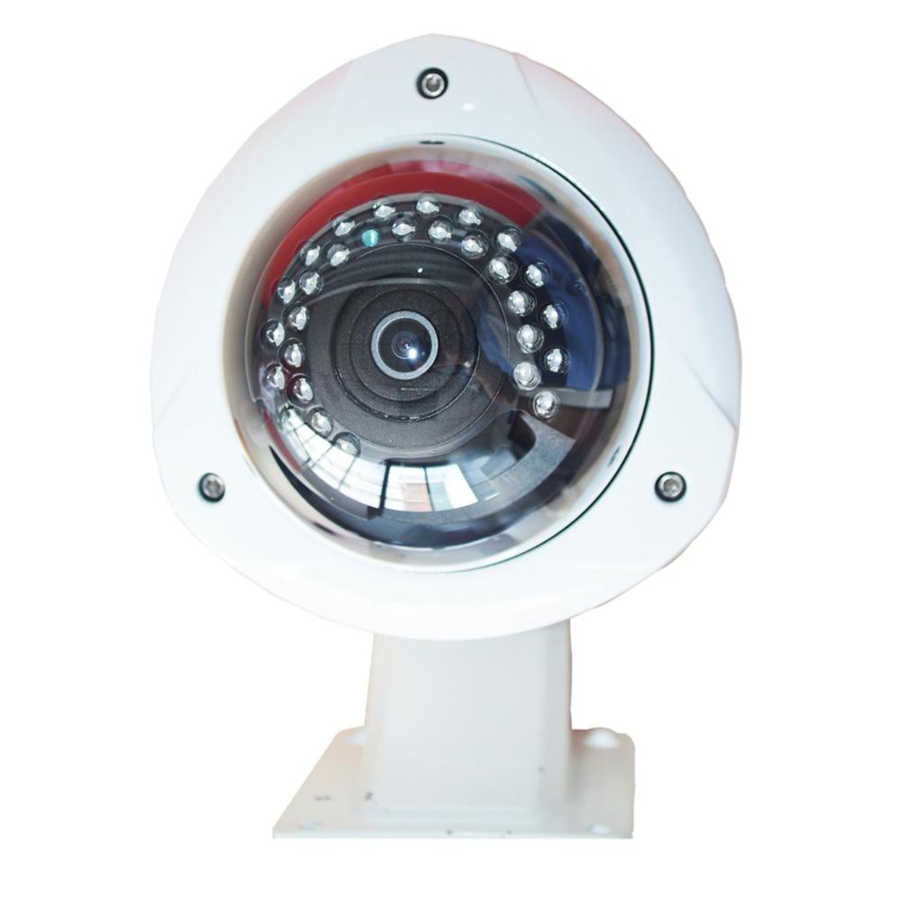Cámara IP exterior domo de 2MP 30 Uds IR Leds impermeable 180 grados 360 grados ver seguridad del hogar CCTV cámara panorámica