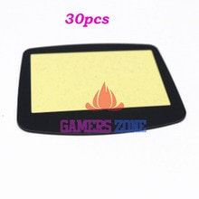 30 piezas para GAME BOY ADVANCE GBA sistema de reemplazo de pantalla PROTECTOR de lente plástico material autoadhensivo