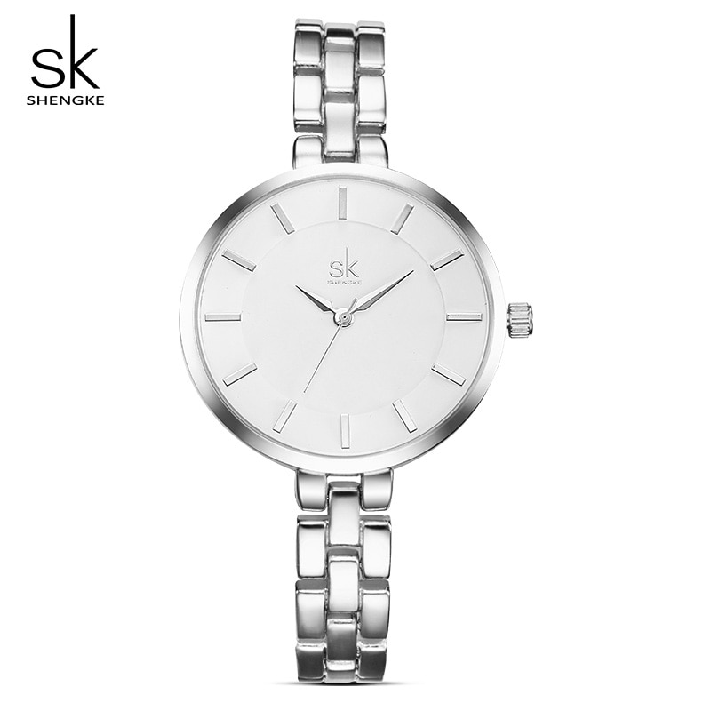Shengke Women Wrist Watch Bracelet Watches Ladies Clock Relogio Feminino 2019 Top Brand Luxury Quartz #K0009