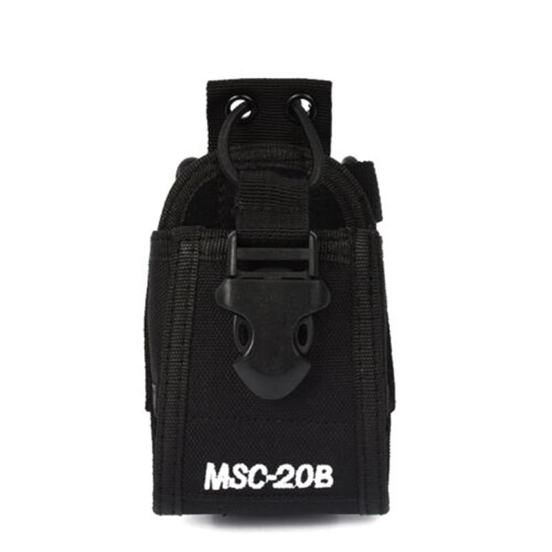 Walkie Talkie Accessories MSC-20B holder Case radio bag Pouch for Baofeng UV-5R UV5R Plus UV5RA Plus UV5RE Plus UV5RB UV5RC
