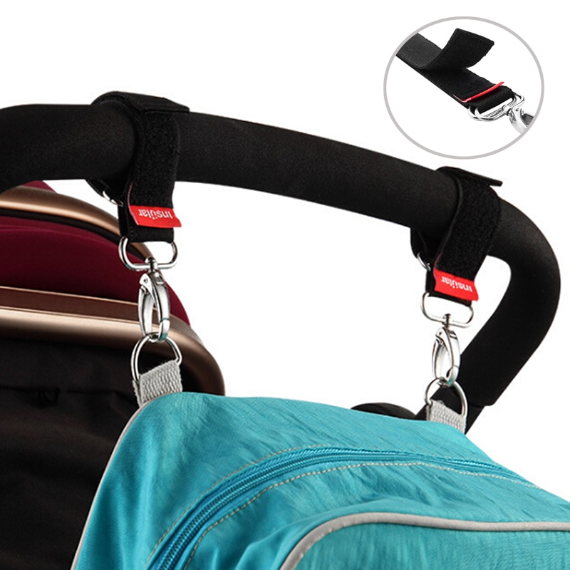 1pcs Stroller Hooks Wheelchair Stroller Pram Carriage Bag Hanger Hook Baby Strollers Shopping Bag Cl