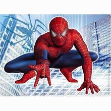 5D Diy Diamant Malerei Super Spiderman Diamant Stickerei Hand Kreuz Stich Diamant Mosaik Handwerk Wand Aufkleber kind decor