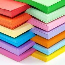 Livraison gratuite 100 pcs/lot 80g A4 couleur copie impression papier couleur origami papier bureau papier fait main papier 10 couleurs disponibles