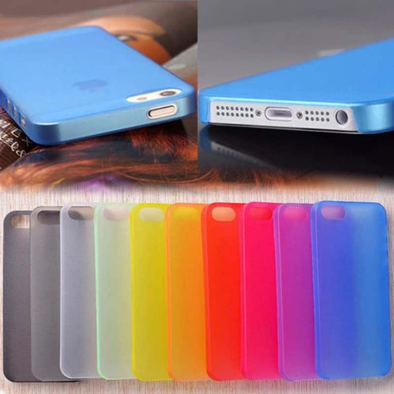 Fundas para iphone 6 S, funda de teléfono de plástico duro ultrafina para iphone 6 S 7 6 S 6Plus 8 8Plus 5 S 5S SE 5C X XS Max XR 4