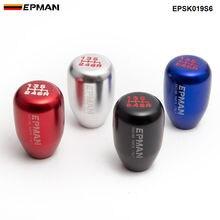 EPMAN Sport Universal Racing gałka zmiany biegów do samochodu instrukcja samochodowy drążek zmiany biegów dźwignia zmiany biegów 6 prędkości EPSK019S6