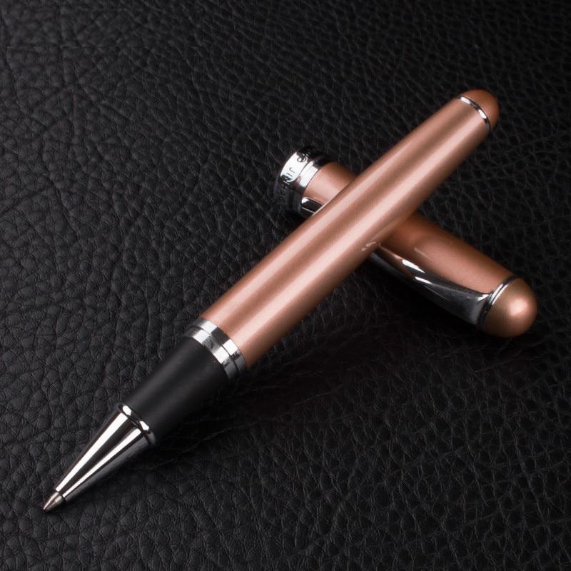 Jinhao 750 stylo à bille roulante de haute qualité 0.7mm encre noire recharge stylo à bille en métal pour les fournitures scolaires des étudiants