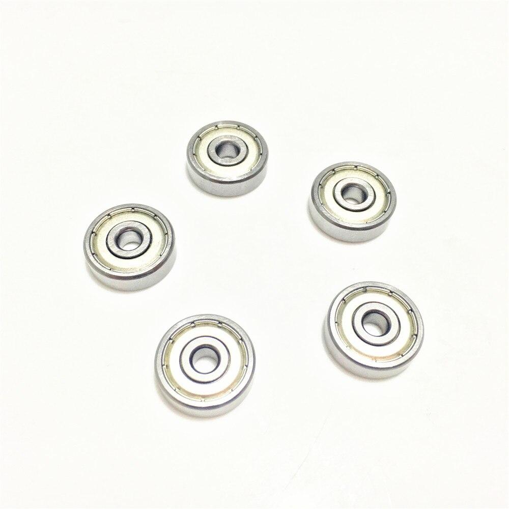 30 Uds 696ZZ 696Z 696 2Z ZZ 6x15x5mm 6*6*15*5 rodamiento rígido de bolas de Metal blindado sellados rodamientos en miniatura