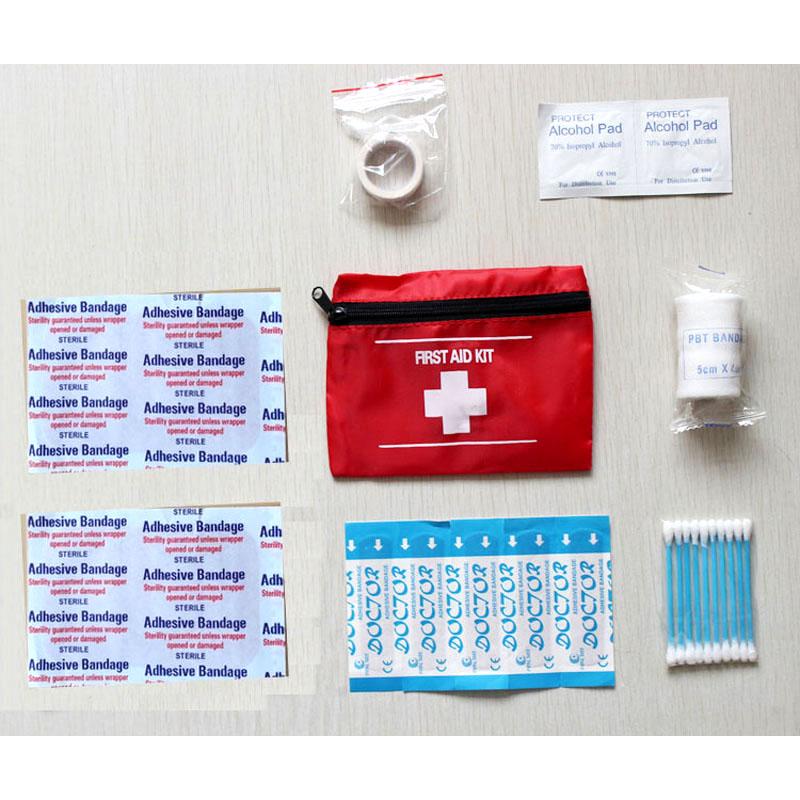 First Aid Kit For Outdoor Camping Sports Medicines Medical Bag Survival Handbag Emergency Kits Travel Set Survival Tools