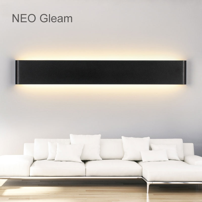NEO Gleam Modern Led wall lights lamp living room bedroom wall lights makeup dressing room bathroom Aluminum led mirror fixtures  - buy with discount