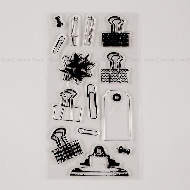 Канцелярские принадлежности, силиконовые скрепки для бумаги, скрепки для бумаги