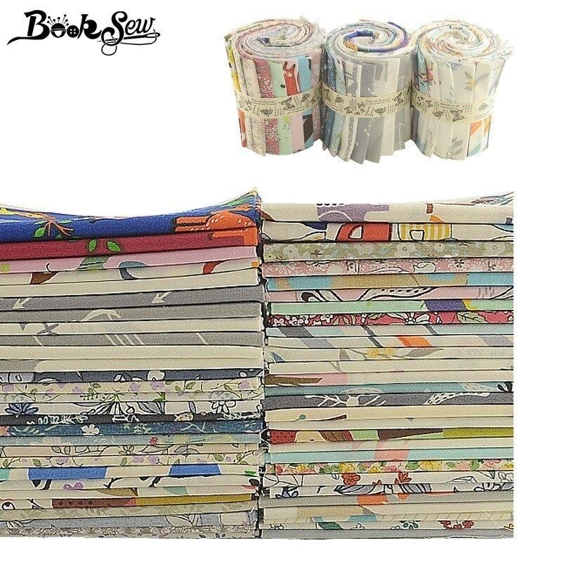 Libros 100% algodón tela Metro 100x100 cm/piezas Telas Tissu dibujos animados Animal flor serie tela edredones patchwork bebé niños