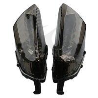 Black Lens Turn Indicator Signal Light Winker For Honda VFR800 2006-2010 08 09