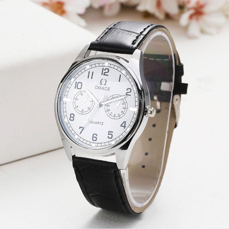 2018 new fashion The belt   Couples watch watch man woman clock men women's watches quartz wristwatch