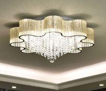 Moderne Simple fleur de prunier cristal lumière salon chambre européenne atmosphère plafonnier LED lumière de Restaurant
