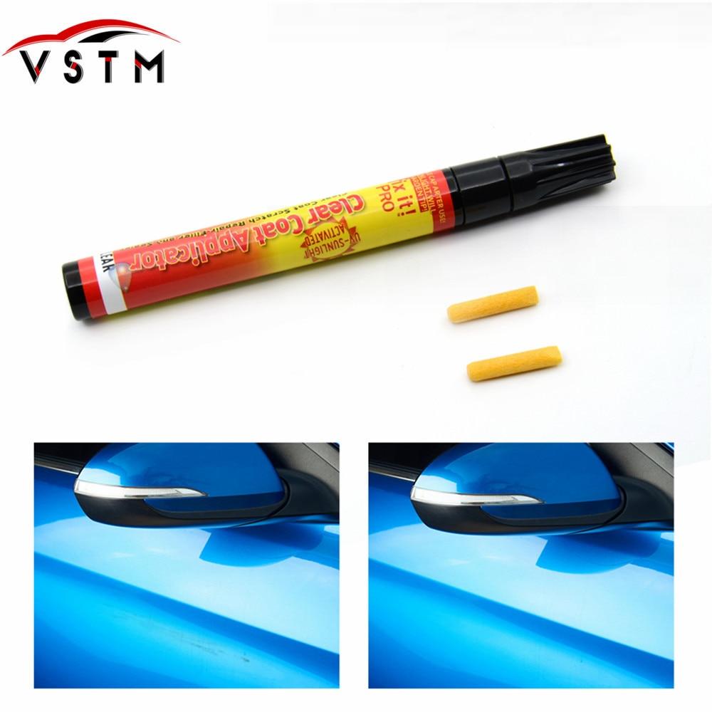 Nuevo marcador de pintura de coche Fix It PRO Clear Coat aplicación para producto de reparación de rayaduras de coche relleno sellador activado claro