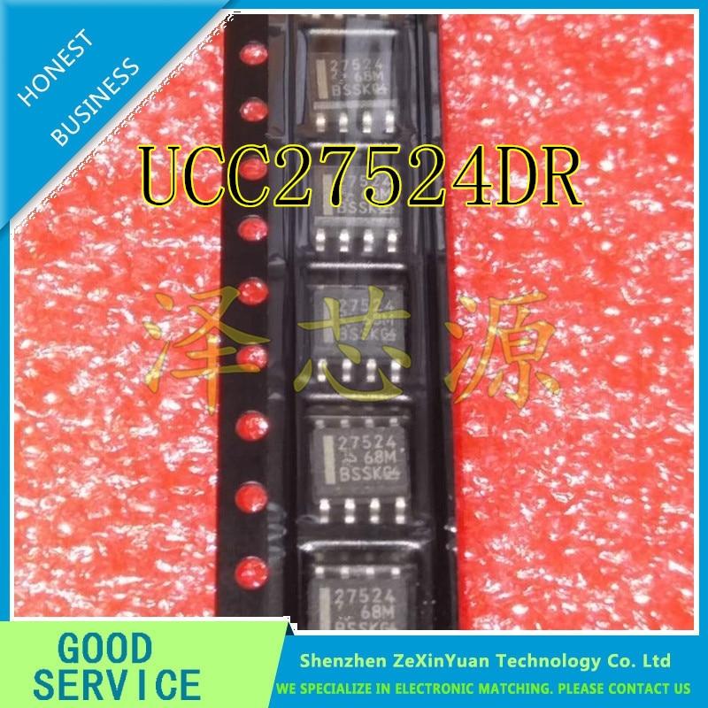 10 unids/lote UCC27524DR UCC27524 27524 SOP-8 Puente Nuevo