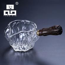 TANGPIN glass tea infuser ebony glass tea pitcher chahai tea accessories