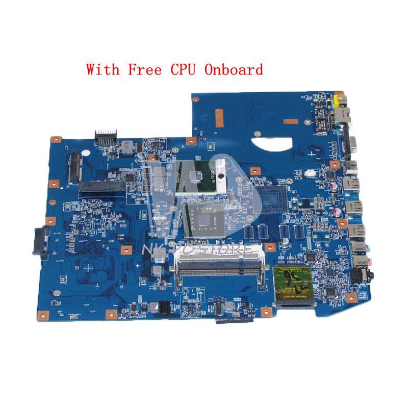 NOKOTION MBPJB01001 MB. PJB01.001 para la placa base del ordenador portátil Acer aspire 7736 7736z 48.4FX01.01M GL40 DDR2 CPU gratis