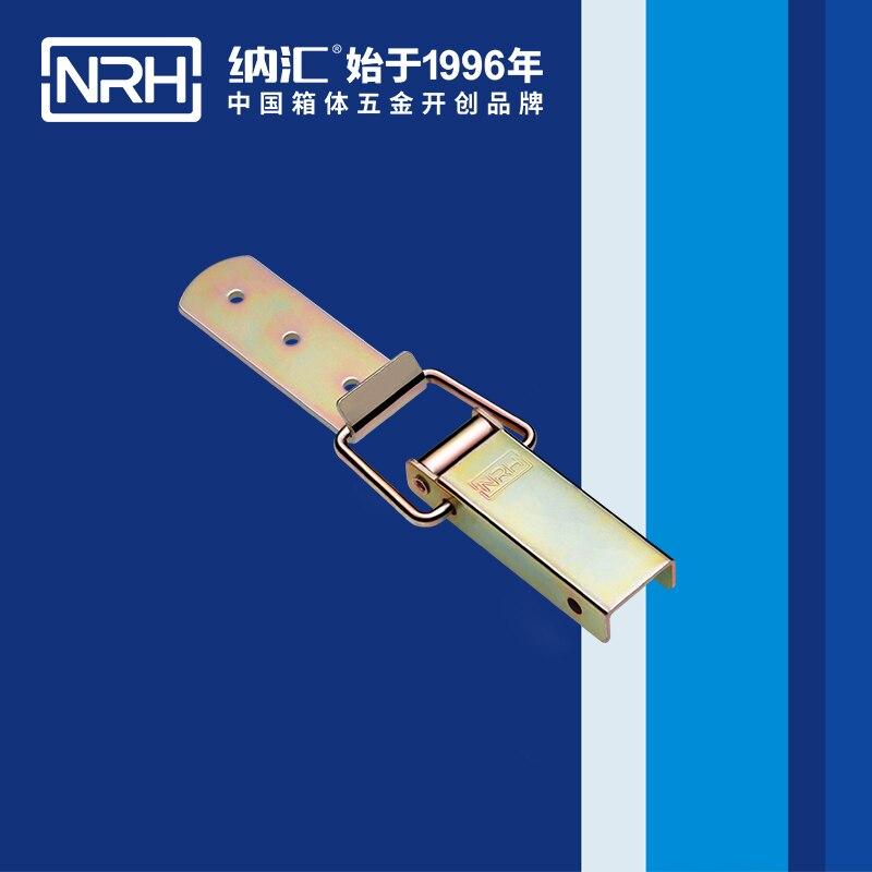 NRH5402B رصاصة مشبك غلق بمشبك خشبي غلق خشبية مربع مشبك قفل مربع مشبك قفل الحديد المواد تصفيح اللون الزنك