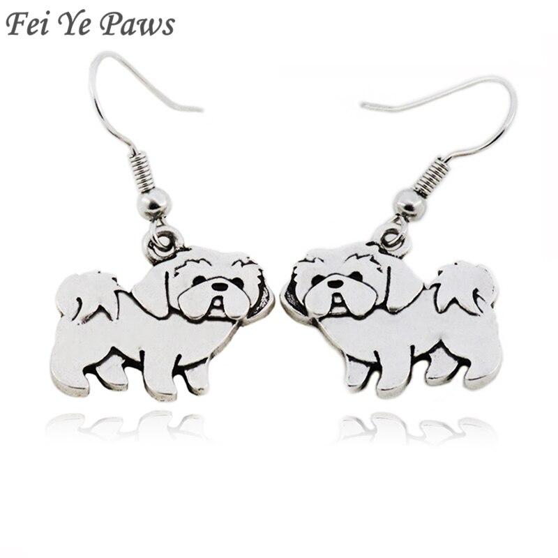 Женские винтажные серьги-подвески Fei Ye Paws, большие массивные серьги-подвески с животными для девушек и вечеринок, Подарочные ювелирные изделия