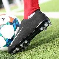 tf long spikes indoor futsal soccer boots sneakers men soccer cleats original football with sports womenmens chuteira futebol