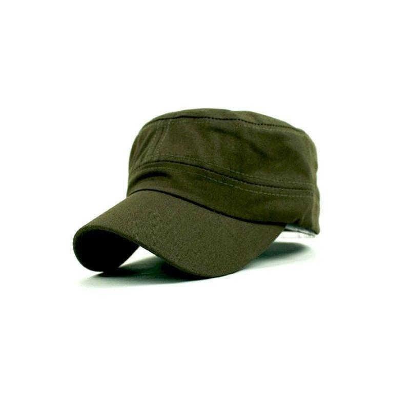 Новая модная летняя Регулируемая Классическая Армейская простая винтажная шляпа, армейская кепка черного и кофейного цвета