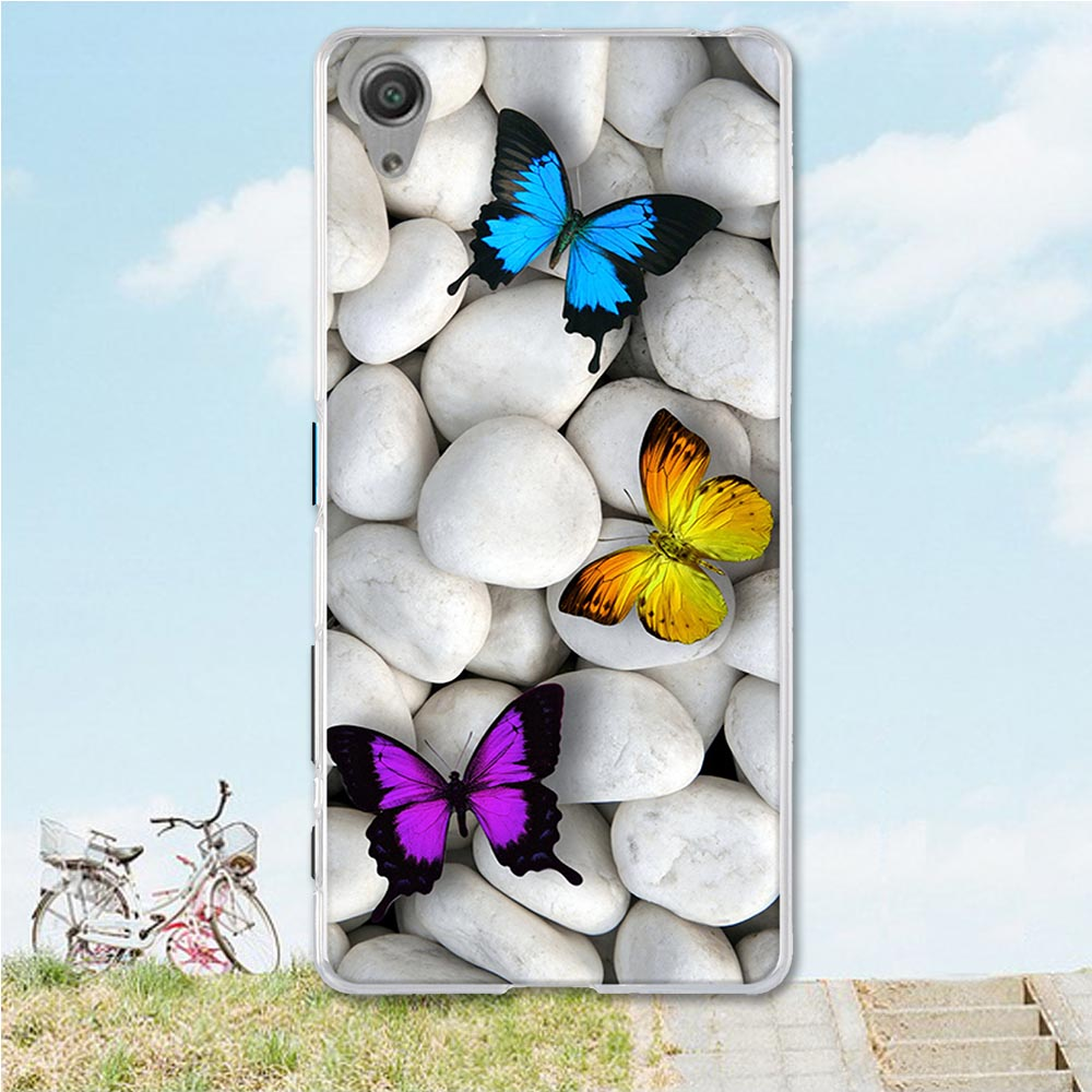 Casos de telefone macio para sony xperia x f5121 dupla f5122 5.0 polegadas casos colorido smartphone volta cobre pele habitação bainha saco 3d