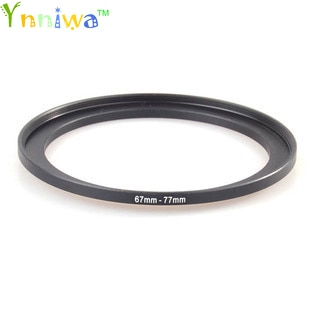 Juego de filtros adaptadores de lentes anillos metálico de regulador 67-77mm