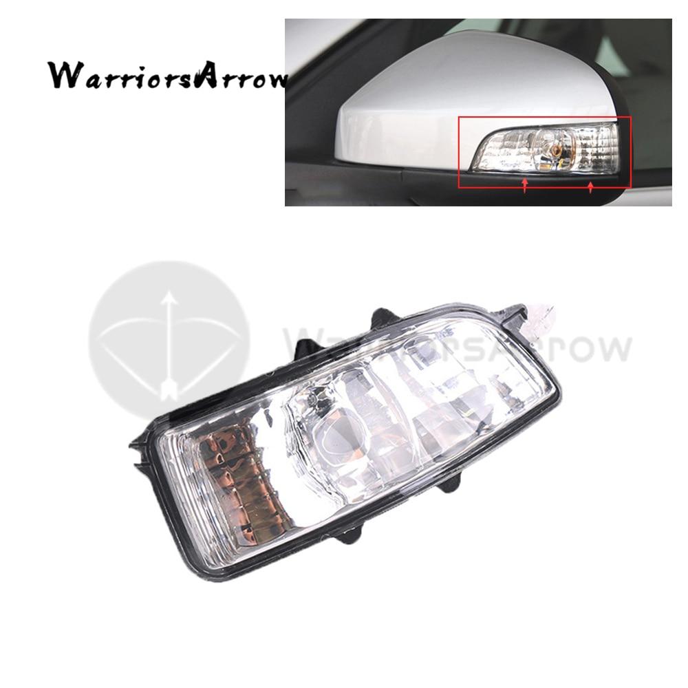Front Left Wing Mirror Indicator Turn Signal Light Lamp Lens NO Bulb For Volvo S40 S60 S80 C30 C70 V50 V70 2008 2009 31111090