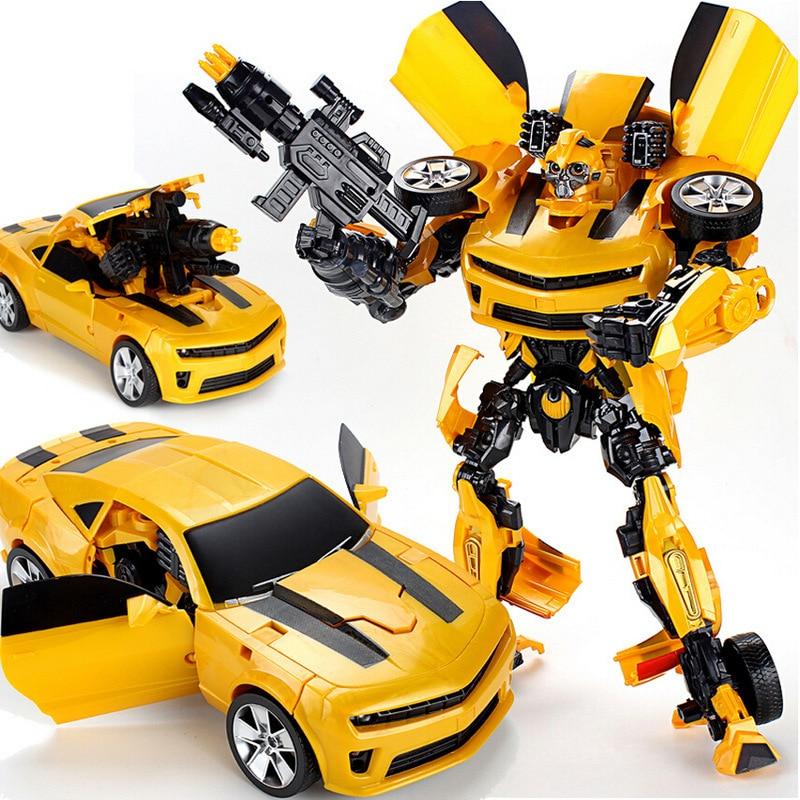 Роботы-трансформеры «Робокар» 42 см, модель автомобиля, Классические акустооптические игрушки, экшн-фигурки, подарок на день рождения для де...