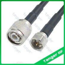 Tanger F mâle prise à TNC câble Coaxial   40 pouces 100cm, haute qualité, vente populaire