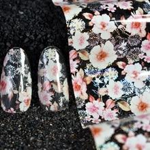 1 meter in bottle nail art design foil glue transfer foil white flower silver Dandelion SHARE YOUR Sunny Excursions SY646