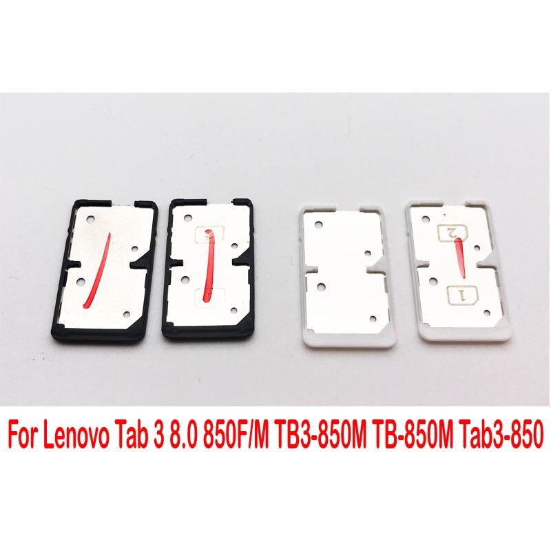 Nuevo soporte de bandeja Sim para Lenovo Tab 3 8,0 850F/M TB3-850M TB-850M Tab3-850 bandeja lectora de tarjetas Sim soporte ranura para tarjetas Sim adaptadores