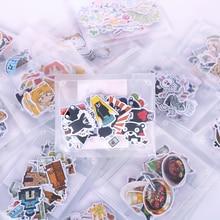 Mignon dessin animé autocollants Animal créatif carnet de croquis décoration bricolage Journal autocollant Kawaii accessoires étudiant papeterie
