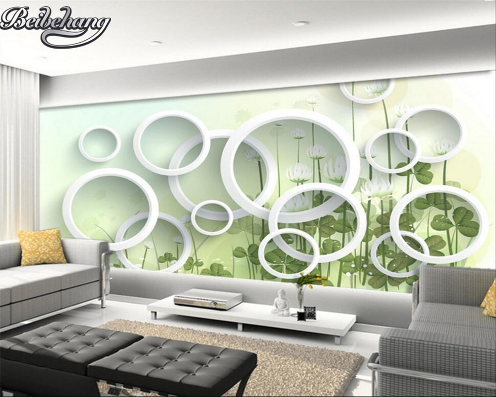 Beibehang Personalizado 3d foto papel de parede elegante flor moda moderno simples tornar grande mural 3D sala papel de parede 3d
