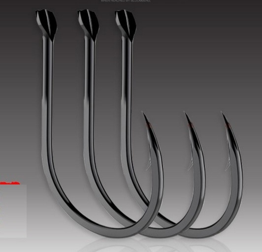 Fine workmanship and steel alloy fish hooks for smart fish in deep water