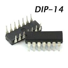 1 pcs/lot CD4001BE 4001 DIP14 nouveau