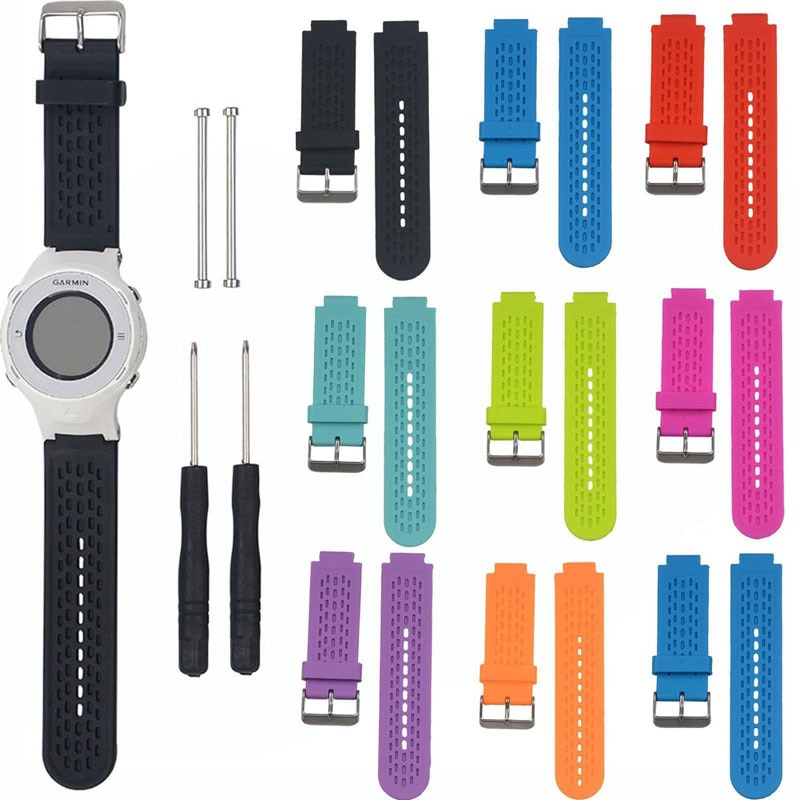 Silicone Wrist Band Strap for Garmin Approach S2/S4 GPS Golf Watch/ Vivoactive