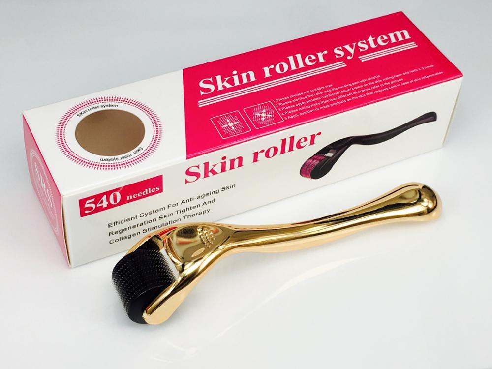 0.2mm/0.25mm/0.3mm dermaroller DRS 540 micro needles derma roller titanium mezoroller microneedle dr pen machine for skin care