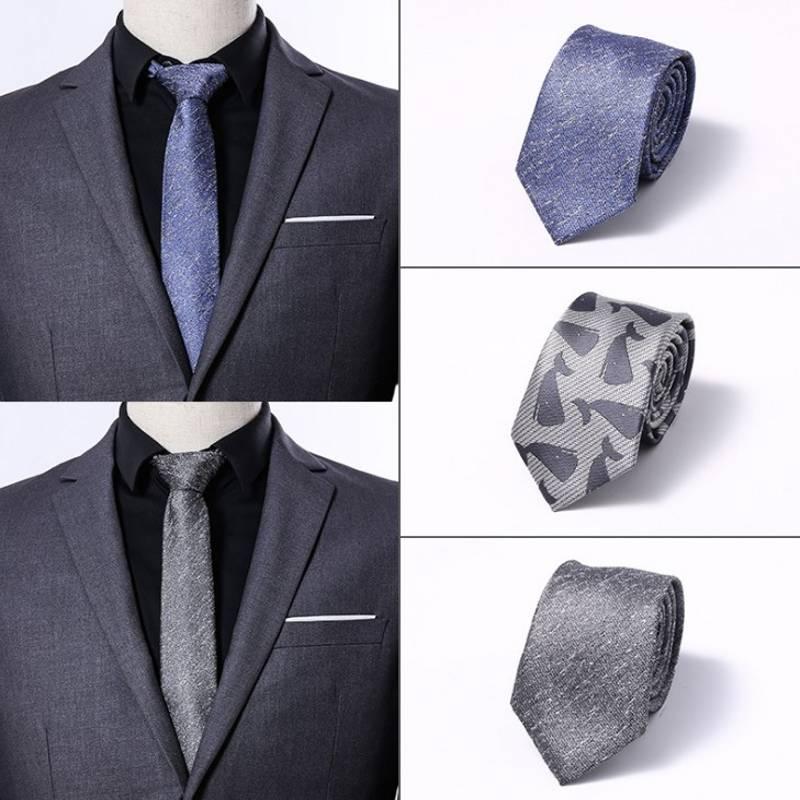 1200 Needles 6cm Mens Ties New Man Fashion Dot Neckties Corbatas Gravata Jacquard Slim Tie Business Green For Men