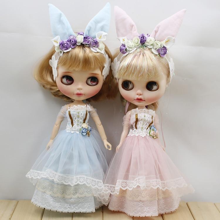 Blyth suits Fairy fantasy dream fairy wedding dress handmade doll clothes for Blyth Pullip Dal doll accessories