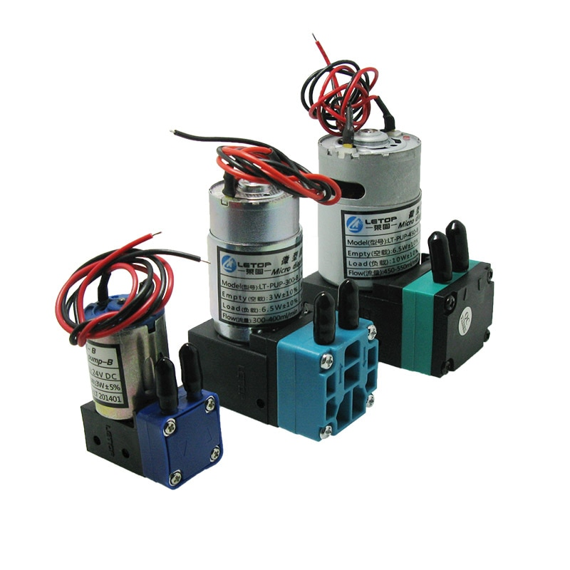 LETOP small 3W 6.5W 10W Solvent Ink Pump For Crystaljet Gongzheng JHF Phaeton Icontek Large Format Printer Flexo Ink Pump
