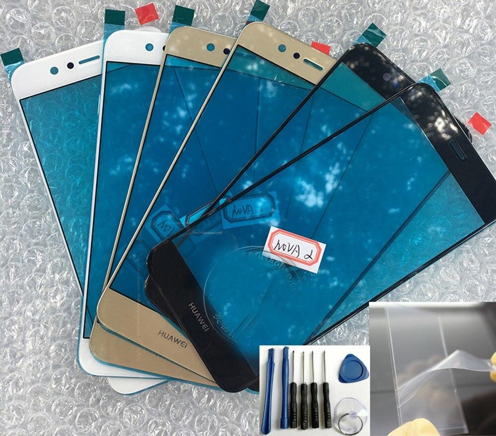 Новинка от Shyueda, инструмент OCA для Huawei Nova 2, L29, LX9, 5,0 дюйма, внешнее стекло для переднего экрана