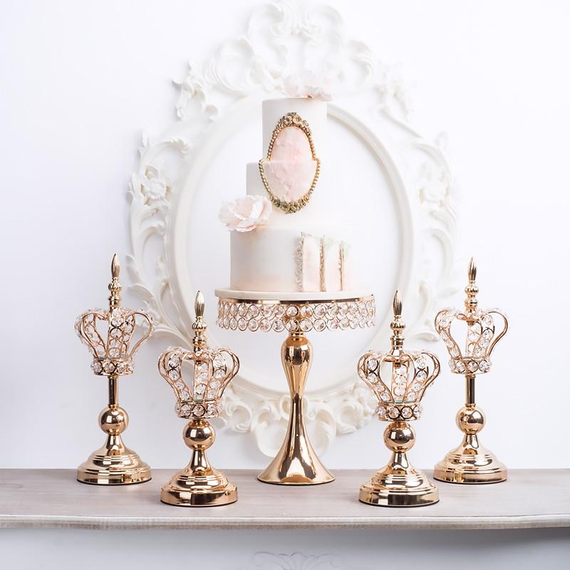 Candlestick dessert table decoration decoration wedding supplies home cake stand