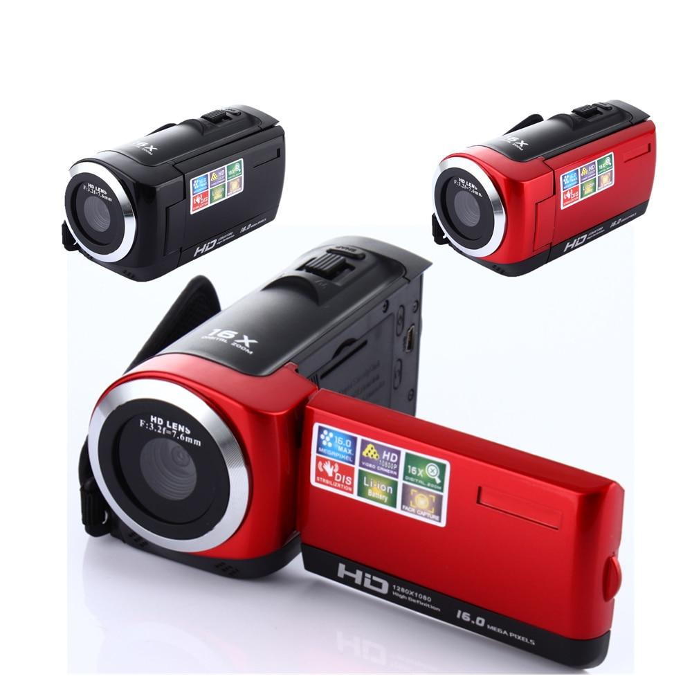 Videocámara de 2,7 pulgadas TFT LCD cámaras de vídeo HD 720P 16MP videocámara Digital DV DVR UK AU US camescope enchufe UE
