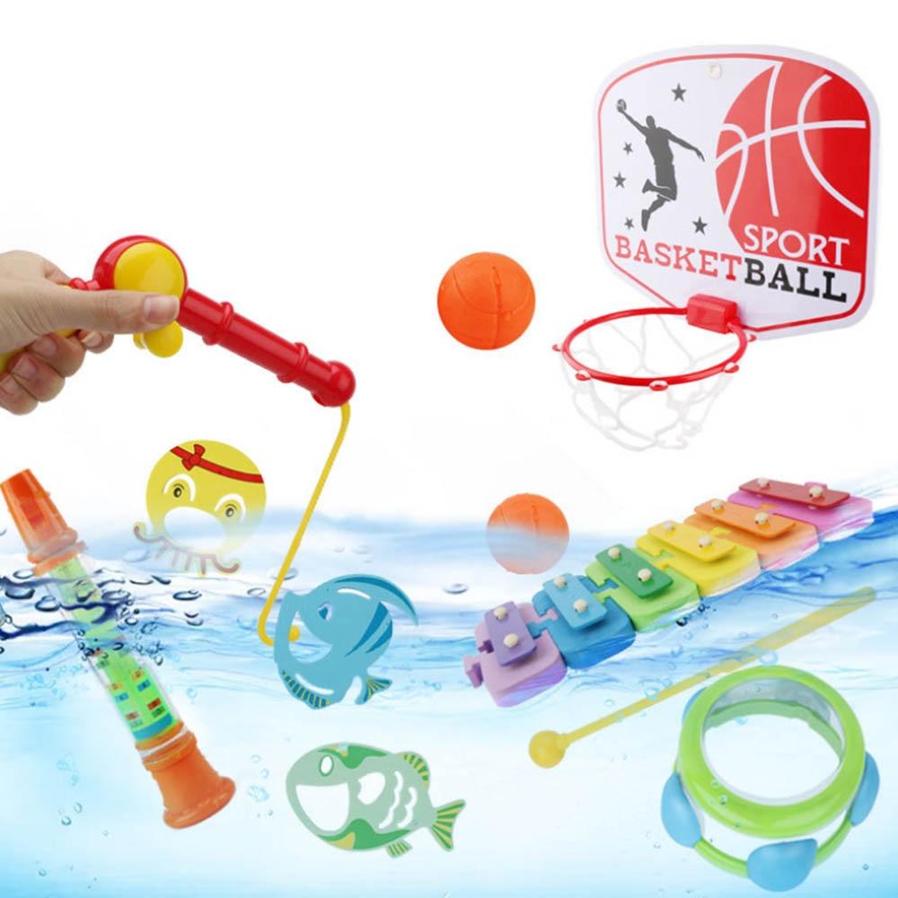 Brinquedo de pesca conjunto magnético terno jogo magnético água brinquedos do bebê peixe quadrado presente quente para crianças pesca pai crianças menino menina