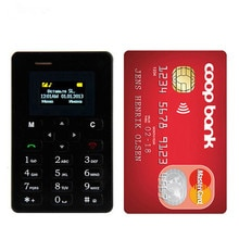 Ultra Thin Aiek M5 Card Mobile Phone Mini Pocket Students Personality Phone Bluetooth Dialer Celular PK C6 X6 X8