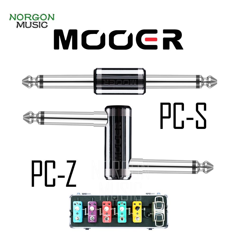 Mooer Z-Shape прямой гитарный бас-эффект разъем для педалей металлический PC-Z PC-S аксессуары для гитары аудио кабель