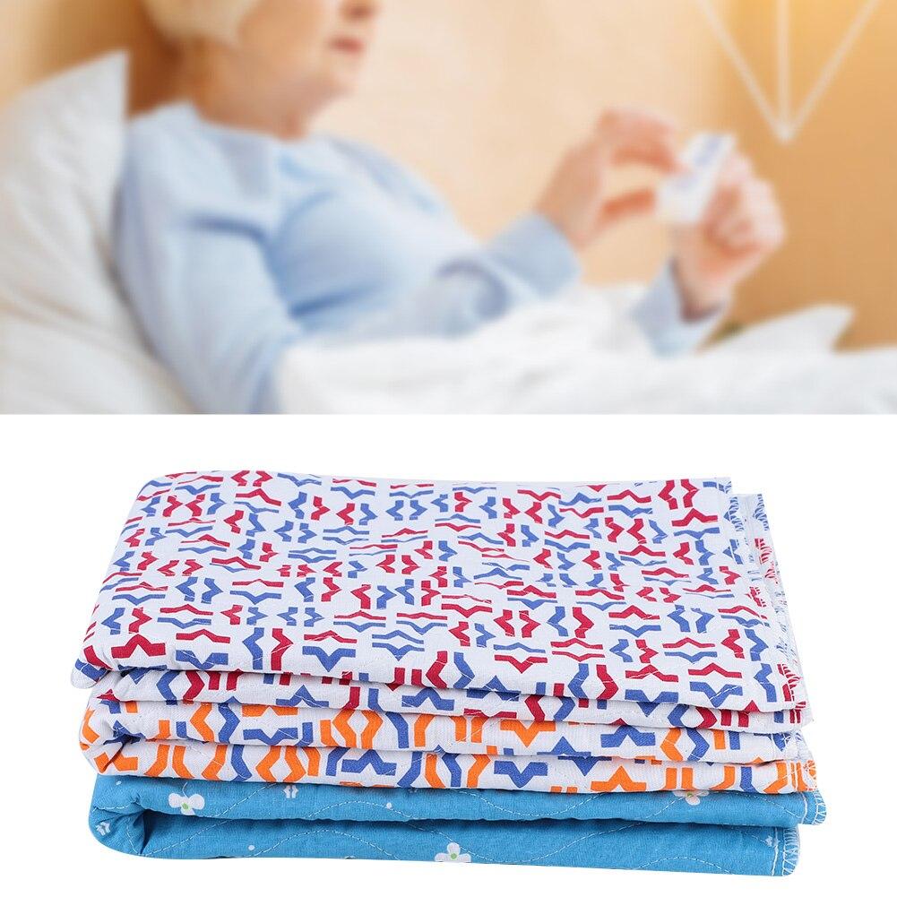 Esterilla de orina reutilizable para adulto, forro de inserción de pañal, pañales para bebé de tela, almohadilla de pañal lavable espeso, esterilla de orina para incontinencia mayor